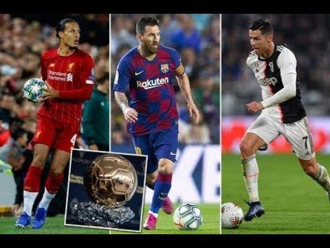 WARKA,CAAWA IYO Champions league,Xidigo weyn oo laga waayay BALON Diore,Messi,Van Dijk iyo Ronaldo