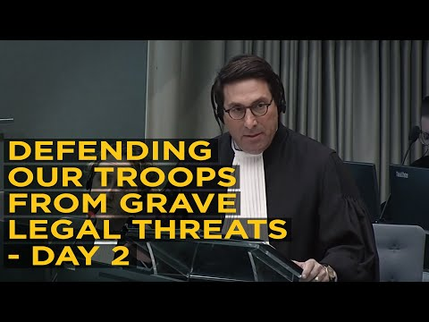 Jay Sekulow Defends Interests of U.S. Troops From Grave International Legal Threats at ICC - Day 2