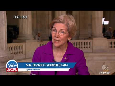 Sen. Elizabeth Warren on Being Silenced in Senate for Criticism Of Sen. Sessions   The View