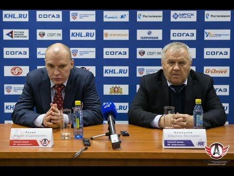 """Пресс-конференция - """"Автомобилист"""" 0:4 """"Нефтехимик"""" (12.11.15)"""