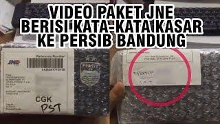Beredar Video Seseorang Terima Paket yang Berisi Kata-kata Kasar ke Persib Bandung dan Suporternya
