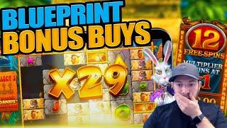 SUNDAY SLOTS - Blueprint Bonus Buys Special! Genie Jackpots, Vikings, Kong & More!
