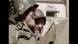 "The Paratroopers song. ""Blood On the Risers"" ( Gory, gory, what a hell of a way to die )"