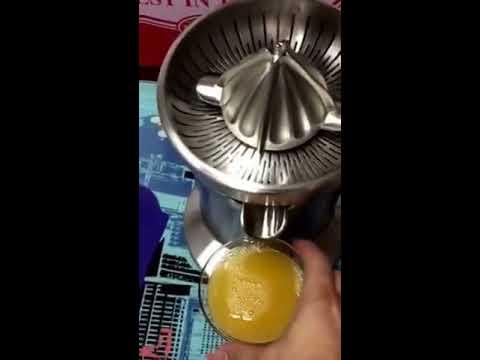 Exprimidor naranjas eléctrico comercial