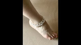 Summer Sparkles Anklet Jewelry Making Tutorial