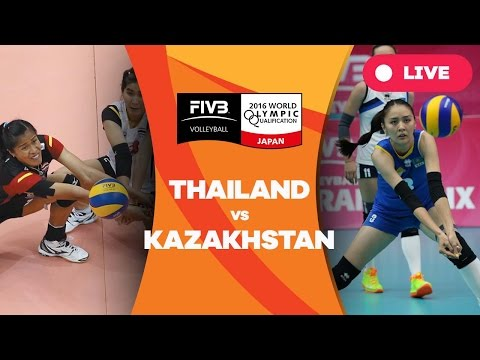 Thailand v Kazakhstan - 2016 Women's World Olympic Qualification Tournament