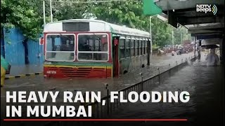 Heavy Rain In Mumbai Leads To Flooding, Travel Chaos | NDTV Beeps - Download this Video in MP3, M4A, WEBM, MP4, 3GP