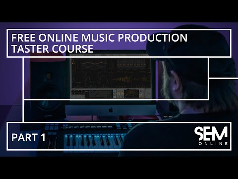 Online Music Production Taster Course Part 1/3 - YouTube