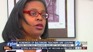 Hundreds of teachers are quitting at Baltimore City Public Schools