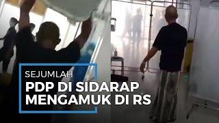 Sejumlah PDP Virus Corona di Sidrap, Sulawesi Selatan Mengamuk Minta Dipulangkan