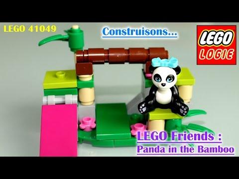 Vidéo LEGO Friends 41049 : Le bambou du panda