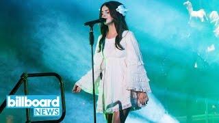 Lana Del Rey Shares New Song 'Coachella-Woodstock In My Mind' | Billboard News