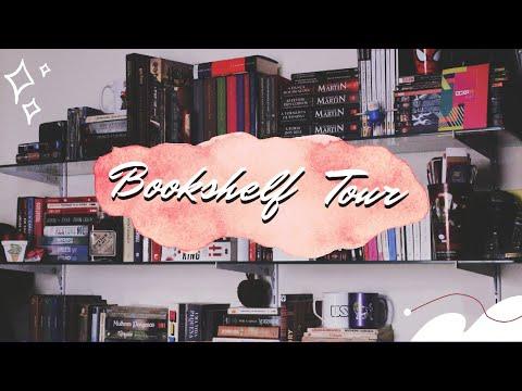 Bookshelf Tour // Todos os Livros e HQs da Minha Estante | 2021