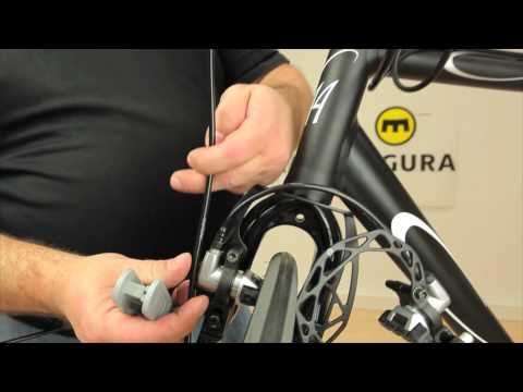 Trimming the cables - Magura rim brake HS11 and HS33 R (German)