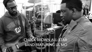 CRANKIN CHRISTMAS REHEARSAL CHUCK BROWN ALL STAR BAND FEATURING LIL'MO