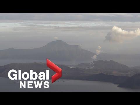 Taal volcano in Philippines eruption watch | Jan. 16