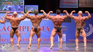 2012 World Championships BUDAPEST   master bodybuilding overall