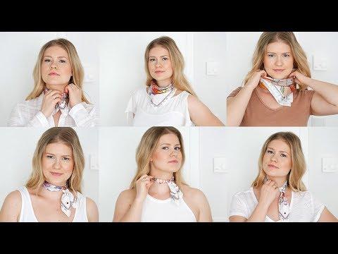 6 Styles mit Seidentüchern für Accessoires-Liebhaber | Wie Du ein Tuch passend zur Gelegenheit