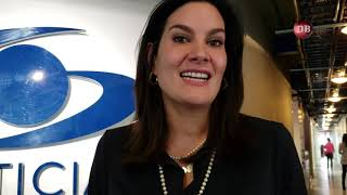 """Vale la pena ser periodista"" Vanessa de la Torre"