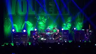 Volbeat En Chile, Marzo 2018   Parasite (New Song) + The Lonesome Rider