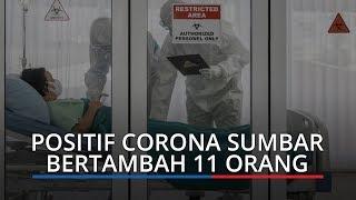 Tambah 11, Positif Corona di Sumbar Jadi 552 Orang, Mayoritas Klaster Pasar Raya Padang