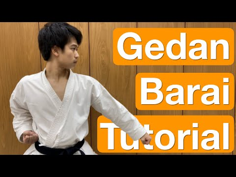 The ULTIMATE Tutorial of Gedan Barai (Low Block)