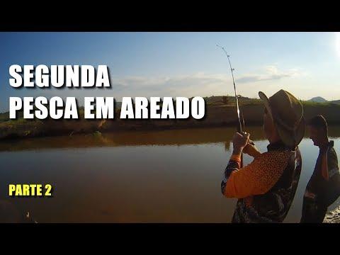 SEGUNDA PESCARIA EM AREADO MG. SALVANDO VIDAS - PARTE 02 Canal Saalada