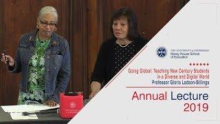 Annual Lecture 2019 – Professor Gloria Ladson-Billings