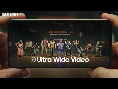 Triple Camera for Ultra Wide Videos