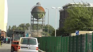 preview picture of video 'Fehlgeschlagene Sprengung des Wasserturms der Stahlwerke Bochum'