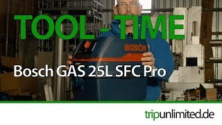ToolTime: Bosch GAS 25 L SFC Staubsauger I Werkstattsauger I Nass- Trockensauger