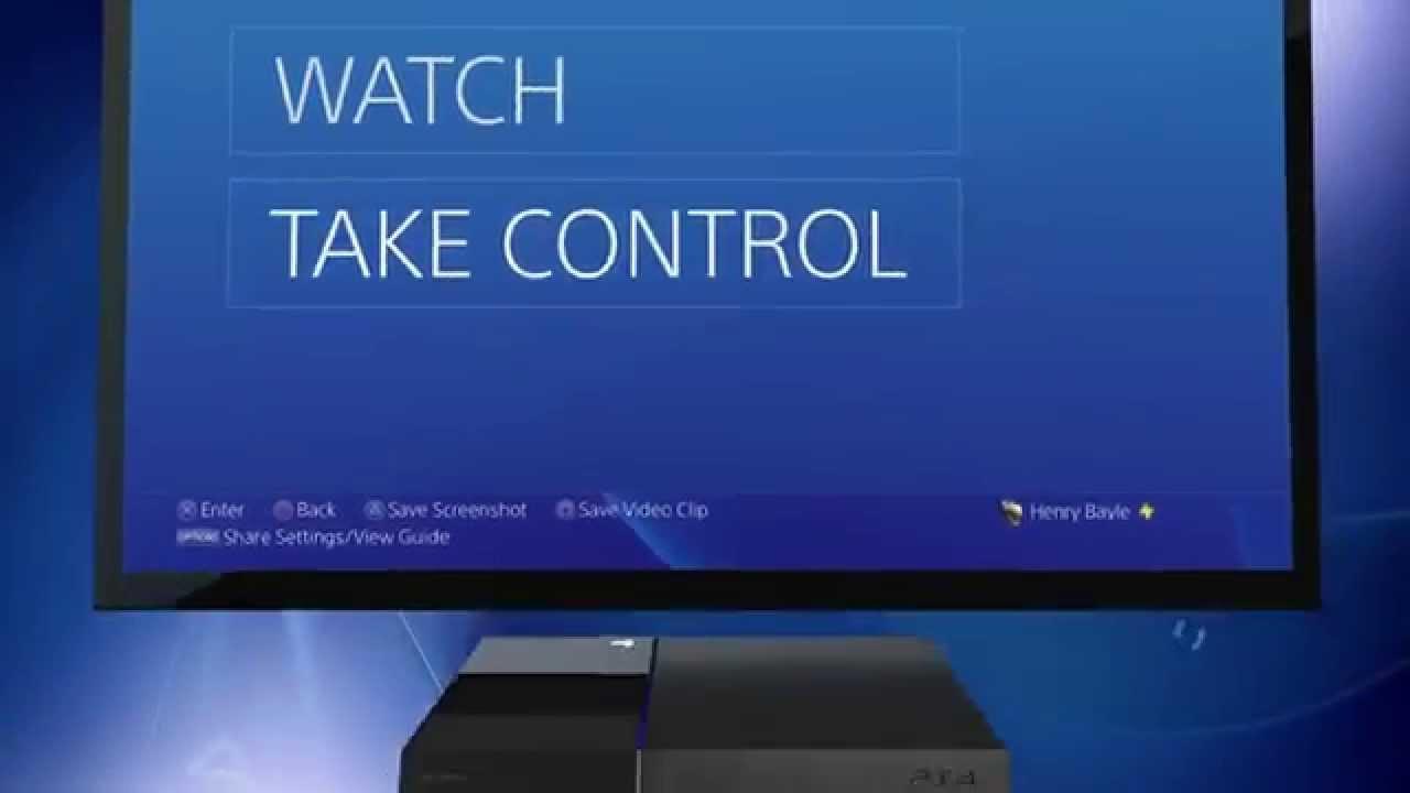 Mise à jour 2.00 PS4 : tous les détails sur SHARE Play