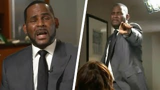 R. Kelly Sobs and Screams While Denying Sexual Abuse Allegations