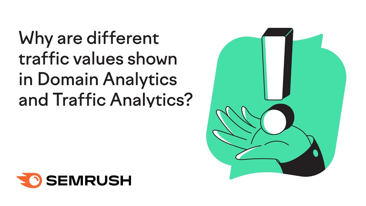 Why are different traffic values shown in Domain Analytics and Traffic Analytics? image 1
