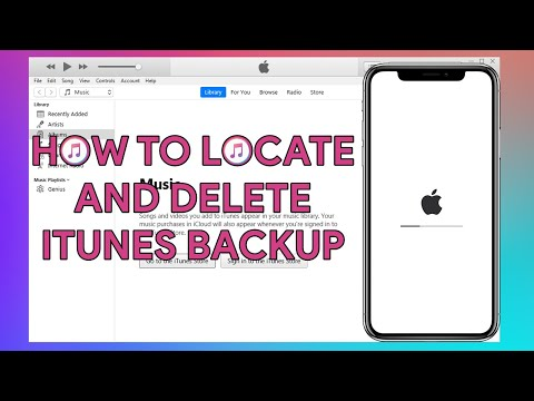 How To Locate and Delete iTunes Backup - [romshillzz]