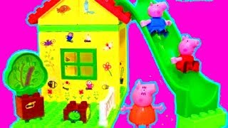 ONE HOUR LEARNING VIDEO FOR CHILDREN with Peppa Pig Toy Compilation by itsplaytime612