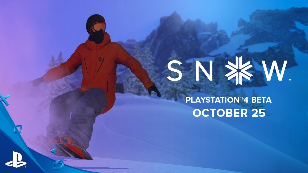 Snow Beta Hits the Slopes October 25 on PS4