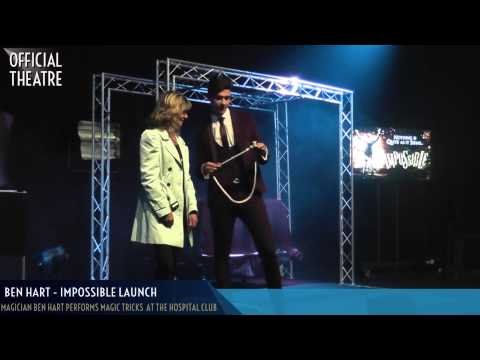 Ben Hart Demonstrates his Magician Skills in the Impossible Press Launch (видео)