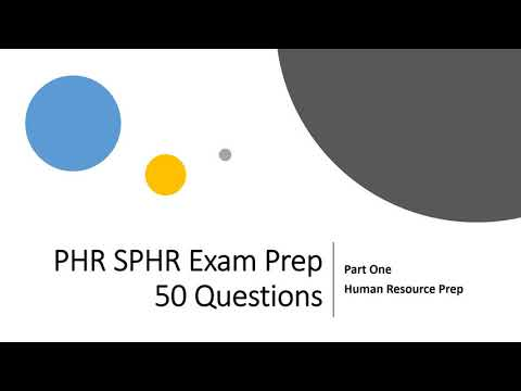 PHR SPHR SHRM-CP, SHRM-SCP Certification Exam Practice ...