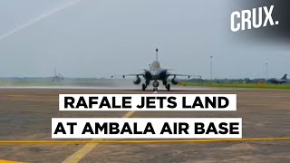 Rafales, One Of The Best Fighter Jets, Cross 7,000 Km To Land At Ambala Air Base