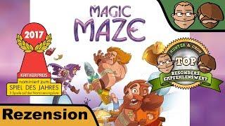 Magic Maze (nominiert zum Spiel des Jahres 2017) - Review