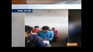 MP: Teachers help students in return of money for cheating in exam in Rajgarh