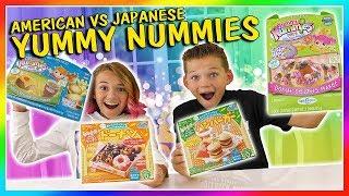 AMERICAN VS JAPANESE YUMMY NUMMIES   We Are The Davises