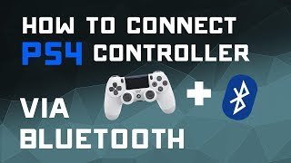 How to Connect Your PS4 Controller to a PC via Bluetooth