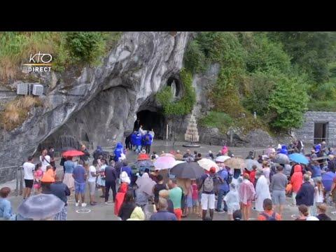 Chapelet du 1er août 2020 à Lourdes