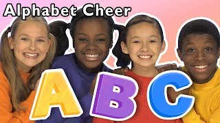 Alphabet Cheer and More | ABC DANCE GAME | Baby Songs from Mother Goose Club!