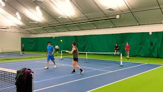 4 5+ Rec Play 15 year olds Ivy Tschetter / Sammy Lee vs  Dana Tschetter / Abdul