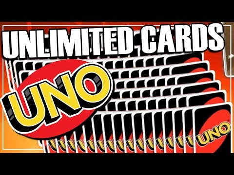The Largest Uno Hand Ever - UNO