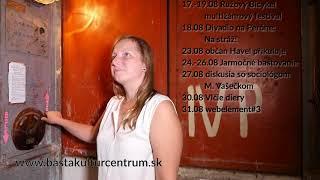 augustová upútavka na program v Bašte