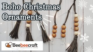 Christmas DIY || Boho Ornaments || Beebeecraft || Part 1